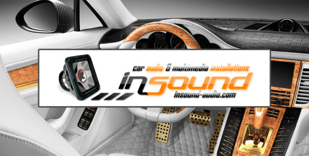 Сайт студии автозвука «Insound-audio»