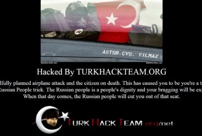 Турецкие хакеры взламывают Российские и украинские сайты